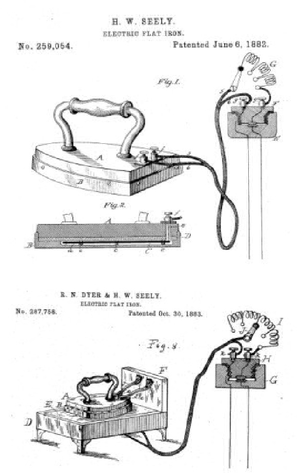 fier de calcat electric