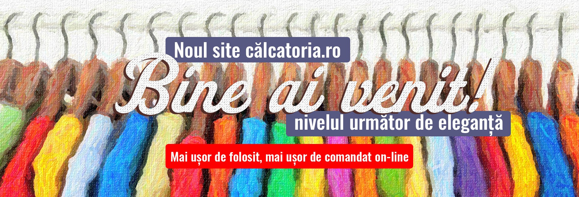Noul site calcatoria.ro